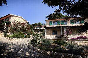 Dalmatinske kućice Skalinada eksterijer hlad