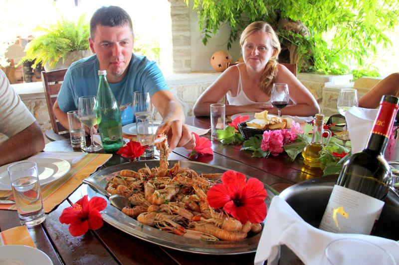 Restoran Skalinada plata plodovi mora