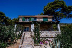 Dalmatinske kućice Skalinada eksterijer 2
