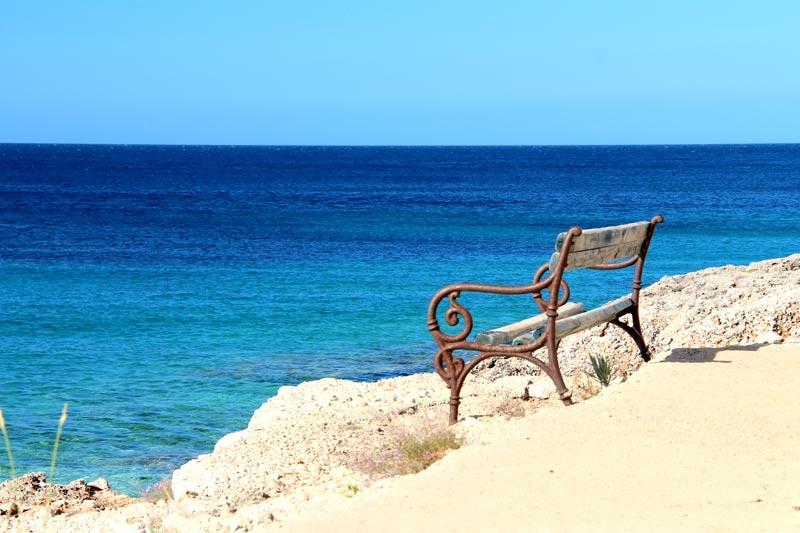 Skalinada plaža pogled