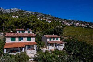 Dalmatinske kućice Skalinada Hvar eksterijer